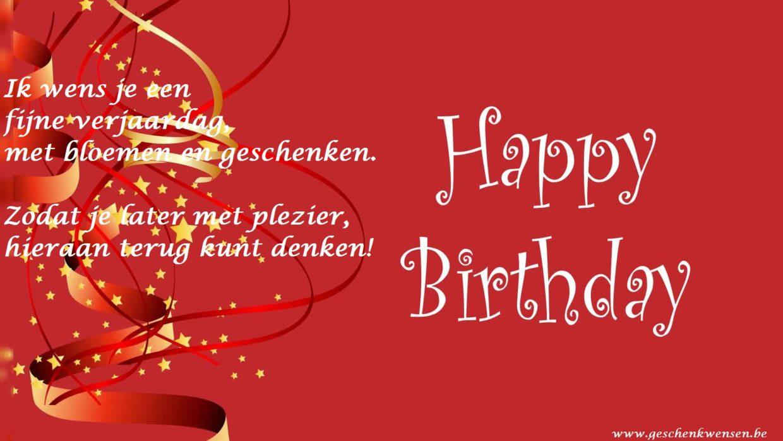 Verjaardag wensen tekst sbpractices - Jaar wallpapers ...
