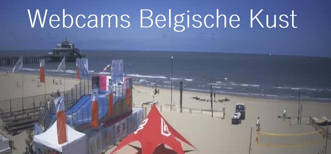 Webcams Belgische Kust