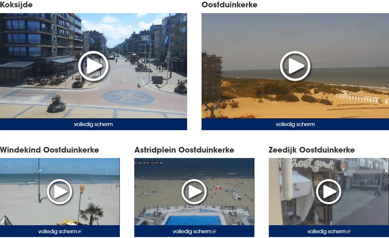 Webcams Koksijde - Oostduinkerke