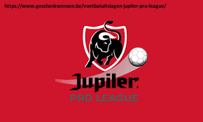 Uitslagen Jupiler Pro League Eerste klasse Eerste Nationale