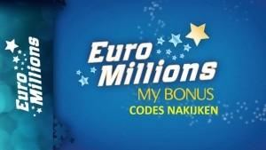 Euromillions My Bonus codes nakijken